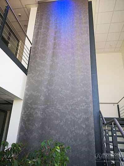 """Wasserwand aus Ringgewebe-Vorhang """"Aqualon Skyfall"""""""