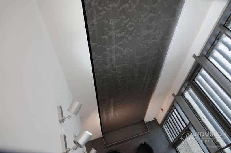 """Wasserwand aus Ringgewebe-Vorhang """"Aqualon Skyfall II"""""""